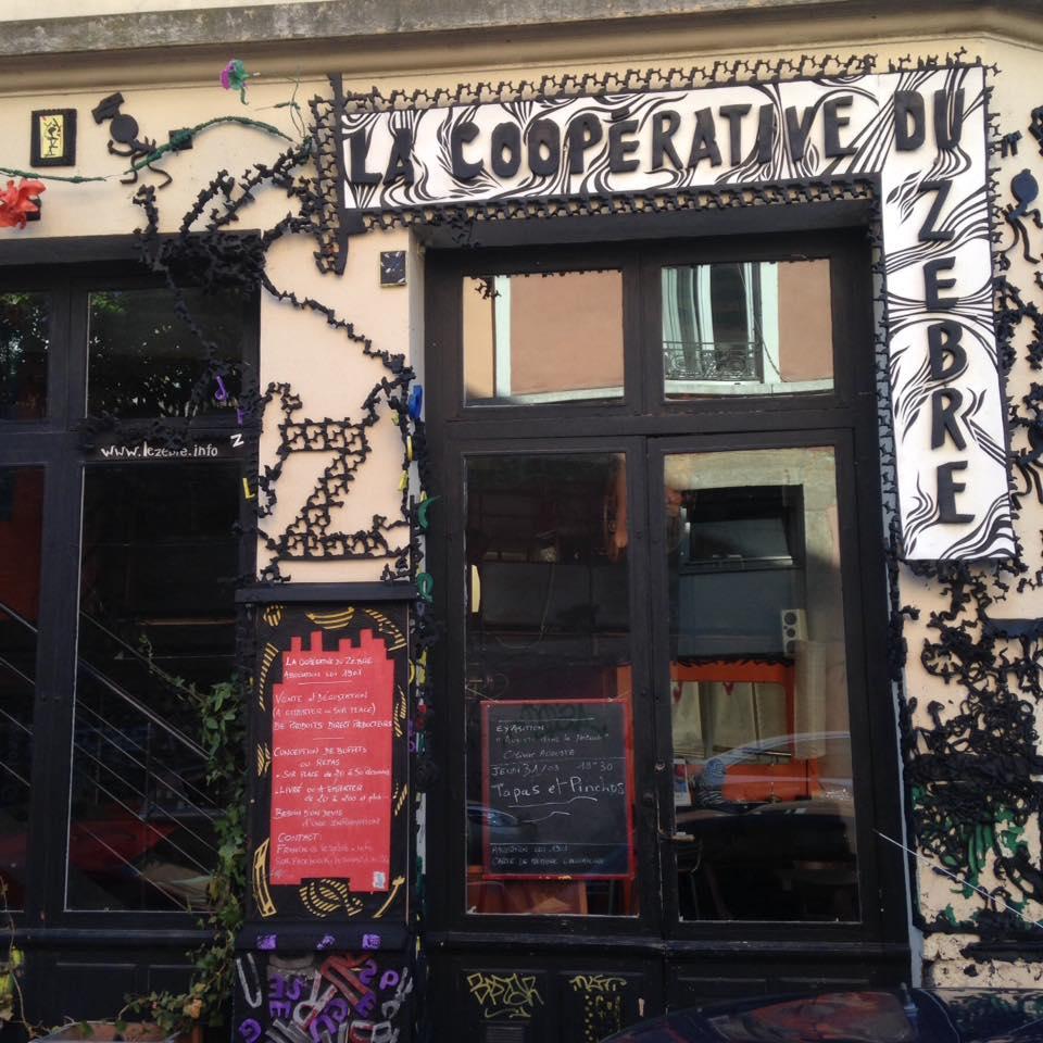 Lyon coopérative du zèbre