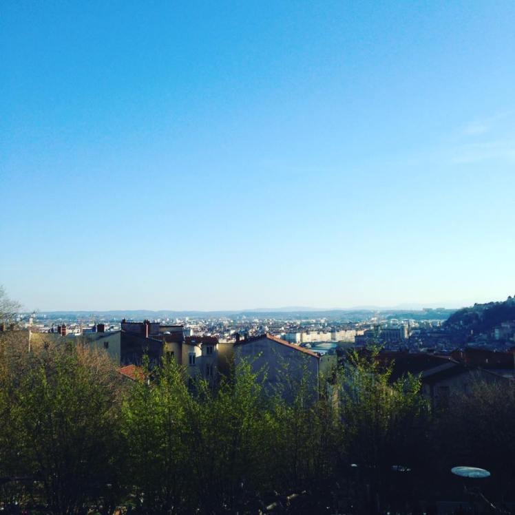 Lyon vu d'en haut