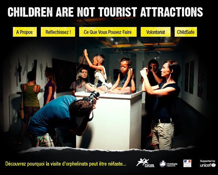 tourisme enfants orphelinats