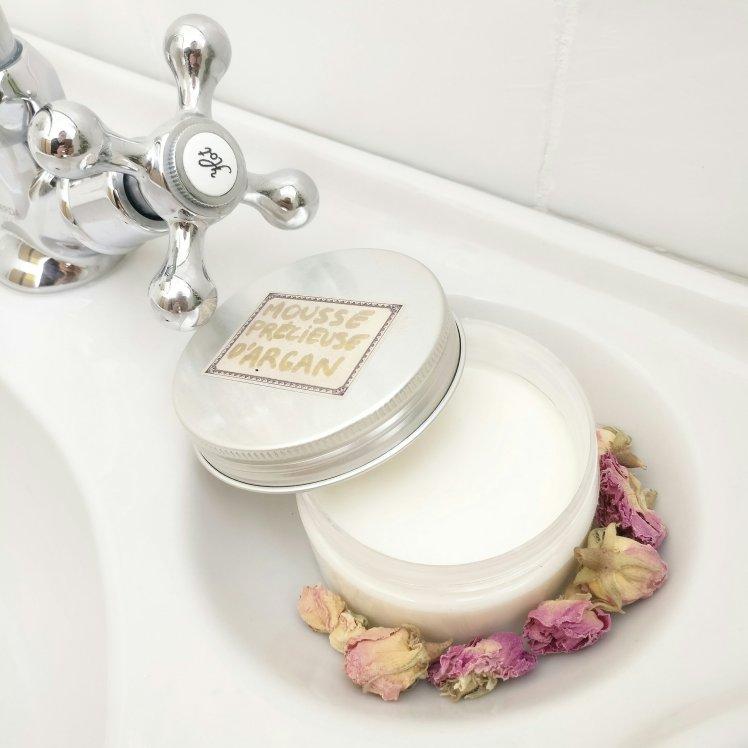 Mousse précieuse d'argan, cosmétique DIY !